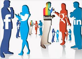 communicate social media